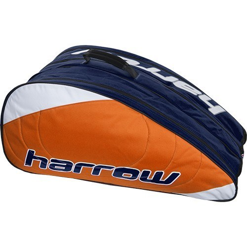 harrow-pro-racket-bag-orange-blue