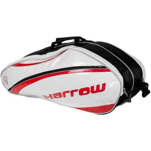 Harrow Squash Bags White Red